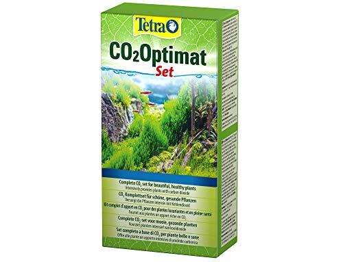 Tetra CO2-Optimat - Komplettset zur Anreicherung des Aquariumwassers mit Kohlendioxid für prächtige Wasserpflanzen, mit Diffusionsrohr, Schlauch und Saugnäpfen