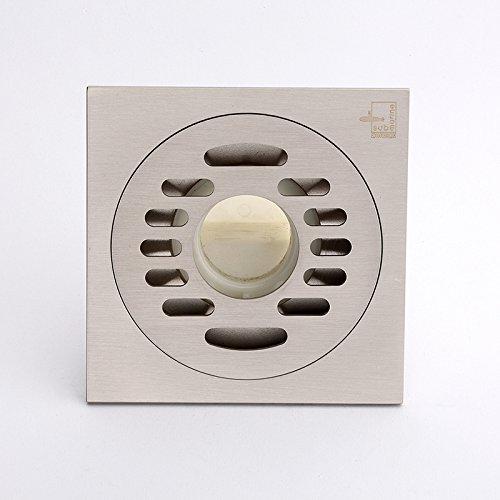 SDKKY le cuivre déodorant ravageur et l'eau des lave - linge moderne simple base consacré des drains de plancher,b