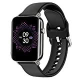 [1.69'' Ultra Large 3D Curved Display] - See the bigger and brighter picture with 500 NITS brightness. Zinc Alloy Body can withstand the daily rough usage with ease. [Breakthrough Sensors with TAGG SenseIQ Technology] - For accurate data tracking whi...