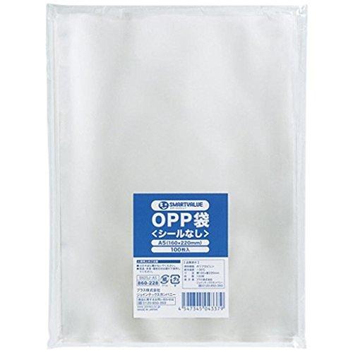 (まとめ買い)ジョインテックス OPP袋(シールなし)A5 100枚 B625J-A5 【×10セット】