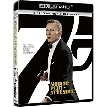 Mourir Peut Attendre [4K Ultra HD + Blu-Ray]