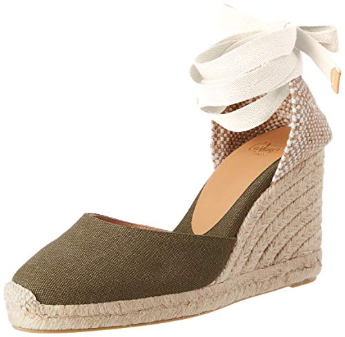 Castañer Carina, Zapatillas Mujer, Verde Musgo, 41 EU