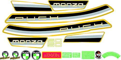 m/áxima Calidad. Kit de adhesivos motos clasicas Puch MINICROSS Super Juego Pegatinas Completo Vinilo para Moto