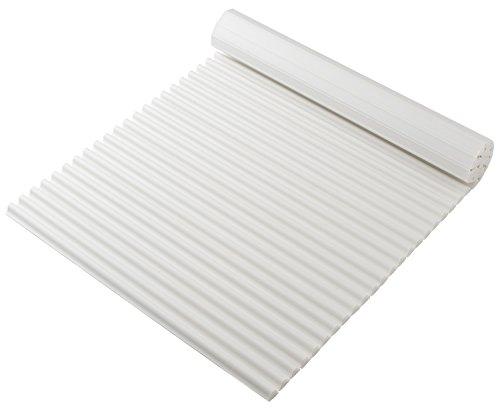 東プレ 抗菌タイプ シャッター式風呂ふた カラーイージーウェーブ 75×160cm ホワイト L16