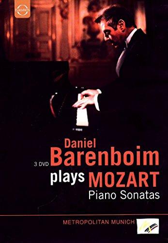 Barenboim plays Mozart-Klaviersonaten [3 DVDs]