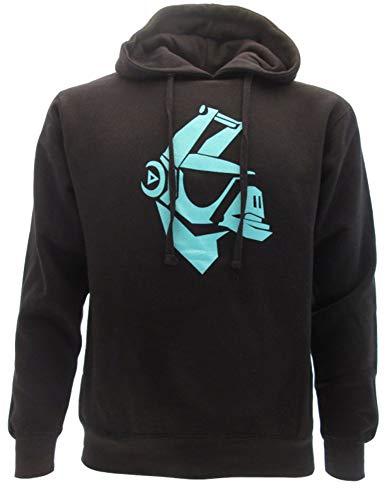 LAMA Llama trui met capuchon hoodie sweatshirt zwart officieel origineel video game compatibel FORTNITE (XS EXTRA SMALL)
