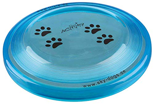 TRIXIE Disc Dog Activity, Plástico extra Resistente, ø23 cm, Perro