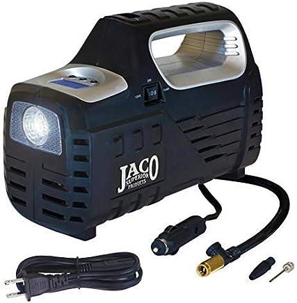 JACO SmartPro 2.0 AC/DC Digital Tire Inflator Pump - Advanced 12V Portable Air Compressor