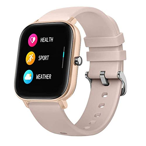 Smart Watch, Fitness Tracker with 1.4' Touch Screen, Activity Tracker with Blood Oxygen Monitor, Step Counter Sport Watch (Gold)