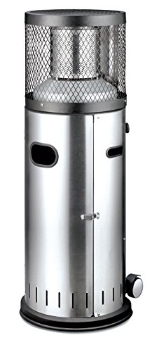 Enders Gas Patio Heater Polo 2.0, Silver, 42x42x115 cm