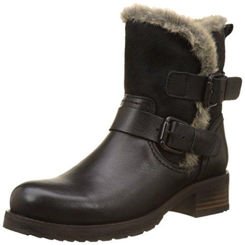 Buffalo London Damen ES 30963 Sauvage Nevada Biker Boots, Schwarz (Preto 01), 41 EU