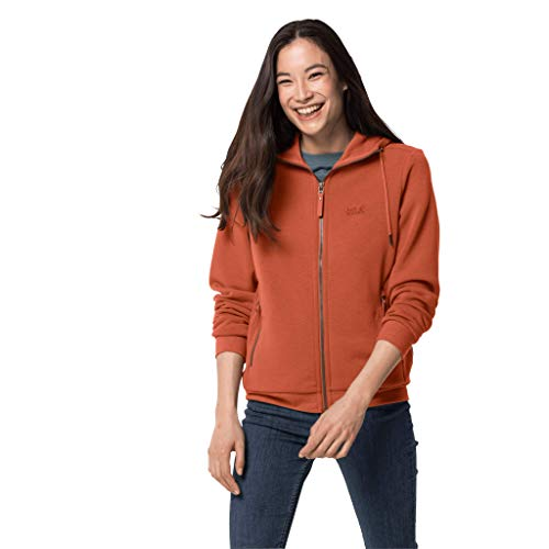 Jack Wolfskin White Coast Damen-Jacke, Größe XL, safran-orange