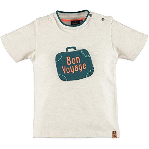Babyface Jungen T-Shirt Bon Yoyage Creme Melee 0107613 (98)