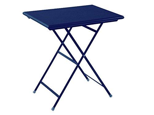 Arc en Ciel Table Pliante rectangulaire cm. 50 x 70 Art. 334 Bleu foncé Cod. 48