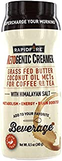 Rapid Fire Ketogenic Creamer for Coffee Or Tea, Supports Energy and Metabolism, 8.5 oz (Limited Edition)