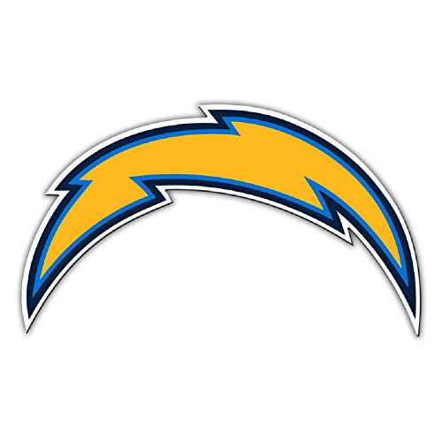 Fremont Die NFL Los Angeles Chargers Magnetmagnet Car Style 12 Inch Logo Design, Team Colors, One Size