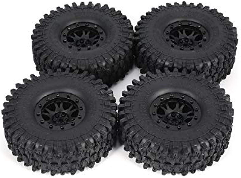 AUSTAR 4pcs 5020 Car Crawler RC 10 1 for Wheel Tires Rubber