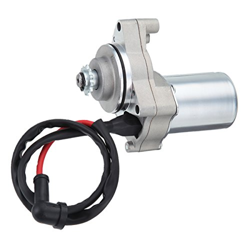 Ambienceo Motorcycle Bike ATV Quad 3 Bolt Top Mount Starter Motor for 50cc 70cc 90cc 110cc 125cc 4 Stroke Engine