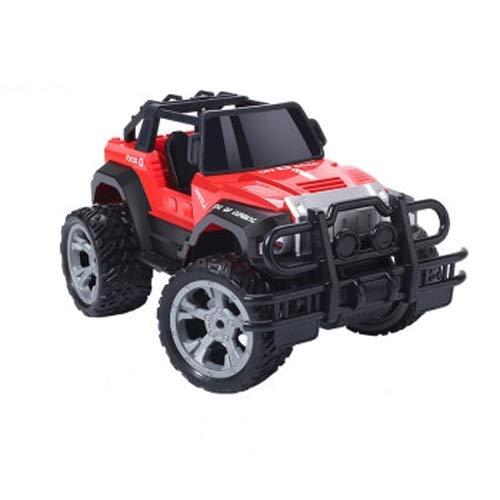 Lihgfw Spielzeug Fernbedienung Auto, 2.4g Junge Off-Road Auto, Spielzeug Rennwagen, Kletterauto, Drift Auto Junge Geschenk 28 cm 90 Minuten Batterieleben blau 28cm (Color : Rot)