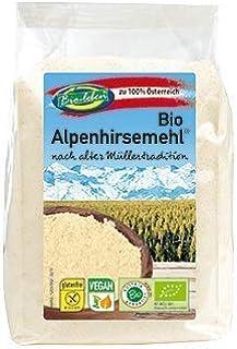 Harina de Mijo de oro ecológica austríaca, sin gluten 2,4kg Bio biológica, sin OMG, de mijo orgánico pelado de Austria, extra limpio y sin datura 6x400g