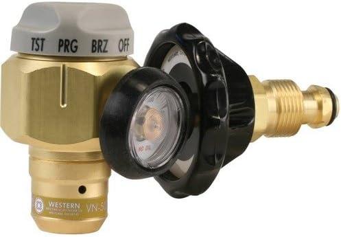 Western Free shipping on posting reviews Enterprises VN-250 Flowmeter Purging Regulator Max 51% OFF Nitrogen