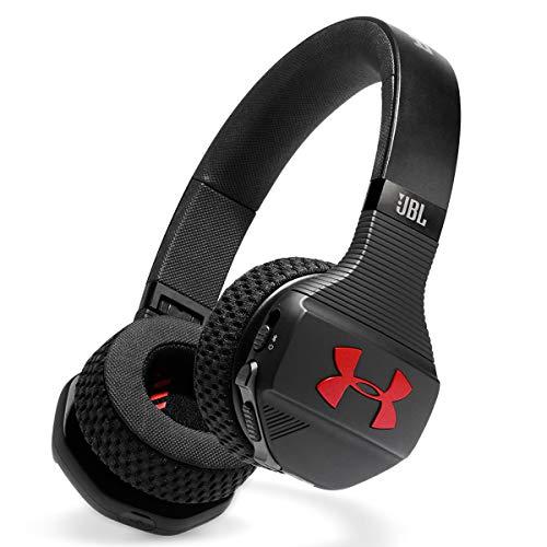 JBL UA Sport Wireless Train on-Ear Headphones Black/red
