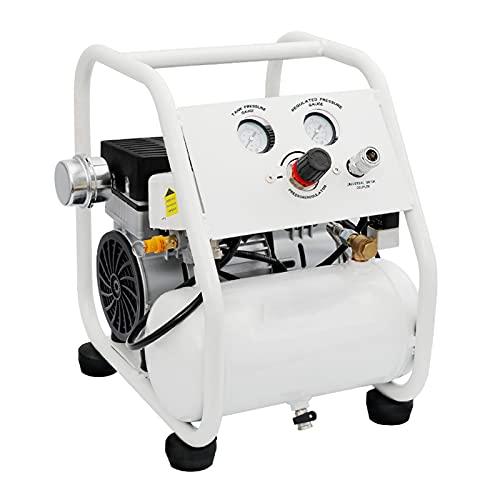 Oil-Free Air Pump Portable 5L Air Compressor Quiet 550/750/1000 W Frame Type Air Compressor 220V Home Renovation Spray Paint, Tire Inflation