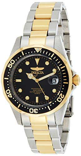 Invicta Black Gold Watches for Men