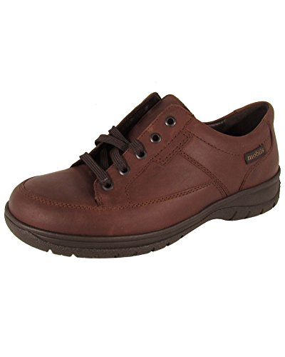 Mobils Ergonomic Mens Iggy Oxford Sneaker Shoes, Chestnut, US 7.5