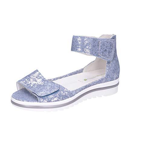 Waldloper dames sandalen Beq-Sandl-Wörishf-30 351005 179 206 blauw 328920