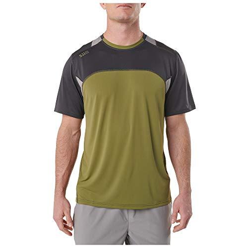 5.11 Tactical Series 511-82113 T-Shirt de Sport Homme Volcanic FR : 2XL (Taille Fabricant : 2XL)