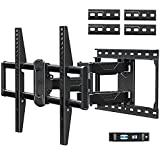 Mounting Dream Full Motion TV Mount for Most 42-70 Inch TVs, Adjustable TV Mount Swivel and Tilt with Articulating Dual Arms, Loading 100 lbs, Max VESA 600x400mm, Fits 16