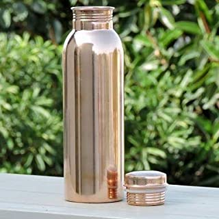 CRUST Ayurvedic Copper Bottle For Water 1 Liter