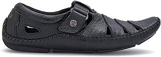 Buckaroo Men's Black Sandal