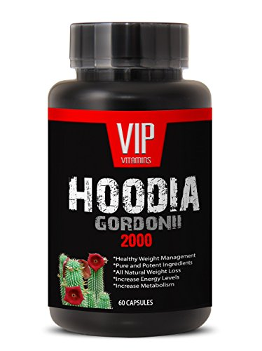 Natural Weight Loss Supplement for Women and Men - Powerful HOODIA GORDONII 2000 Mg - Hoodia gordonii Pure - Hoodia gordonii Pills - 1 Bottle 60 Tablets