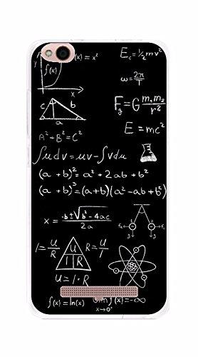 Tumundosmartphone Funda Gel TPU para XIAOMI REDMI 4A diseño Formulas Dibujos