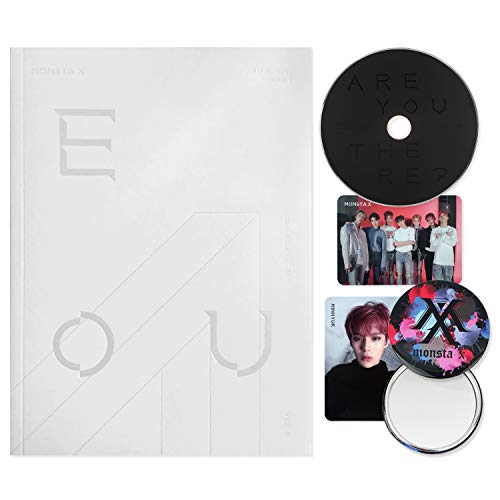MONSTA X 2nd Album : TAKE.1 - Are You There ? [ II ver. ] CD + Photobook + Photocards + FREE GIFT / K-pop Sealed