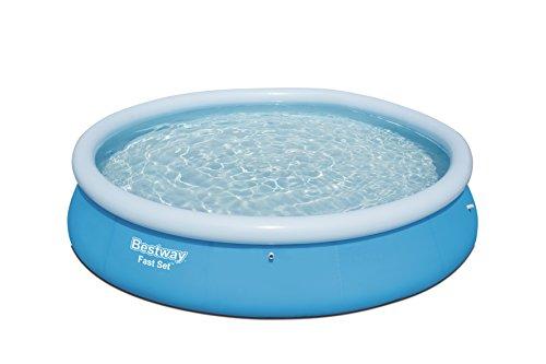Bestway Fast Set Pool, rund, ohne Pumpe, blau, 366 x 76 cm