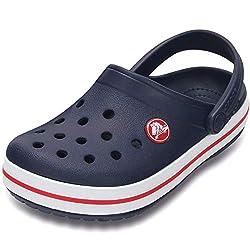 Crocs 204592 LITERIDE CLOG Ladies Summer Pool Casual Sandals Clogs Navy//Melon