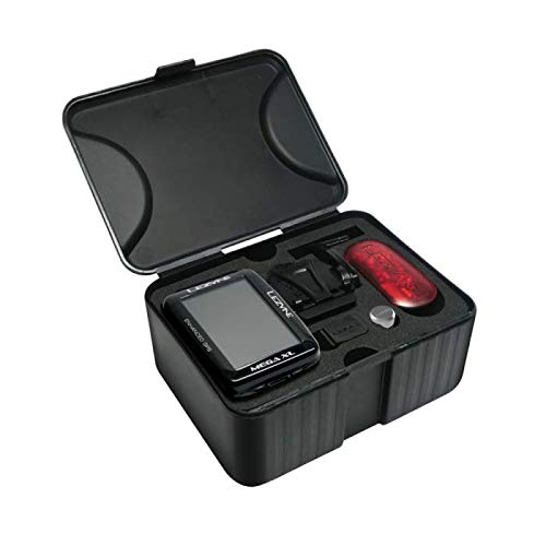LEZYNE Mega XL Loaded GPS Bike Computer Black, One Size