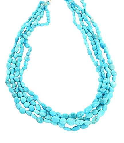 World Wide Gems Cuentas de piedras preciosas durmiendo belleza turquesa