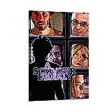 SDFHE Póster con diseño de un escáner de película oscura, póster y arte de pared, diseño moderno de la familia de 50 x 75 cm
