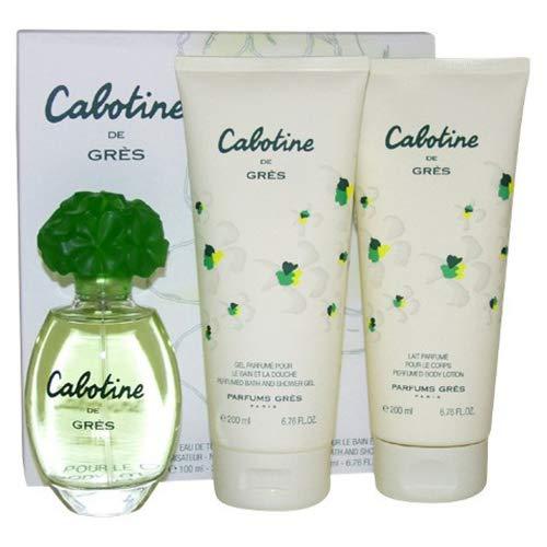 Eau de toilette Cabotine Gres - 100 ml + lotion pour le corps 200 ml + gel douche 200 ml