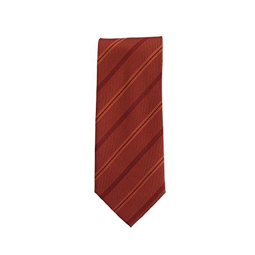 Silk Ties das klassieke zijde Bordeaux rood 8,5 cm