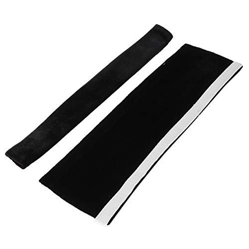 Omabeta Fácil de limpiar, suave, fundas para manija de nevera, conveniente, antideslizante, 2 piezas para el hogar (negro)