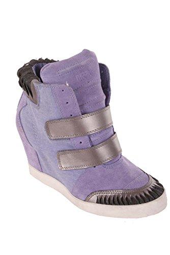 DIESEL Bottes Wedge Sneaker Femmes « Nous, après Tout » (EUR 37, Violet)