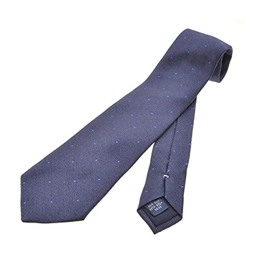 (ブリューワー) BREUER ドット刺繍シルク ネクタイ