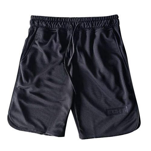 Pantalones Cortos para Nner Deporte Hombres Ropa Hombres Entrenamiento Mode De Marca...