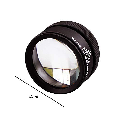 Holding Vergrootglas 30X40MM Vergrootglas Dubbele Lens 30 keer Antieke Jade Jade Identificatie Precisie Vergrootglas