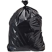 AmazonCommercial 60 Gallon Heavy Duty Contractor Bags - 3 MIL - 40 Count